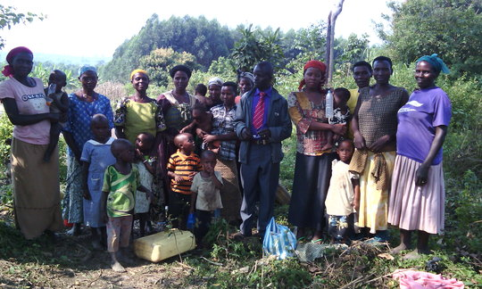 Nyamirama School Building Committee meeting