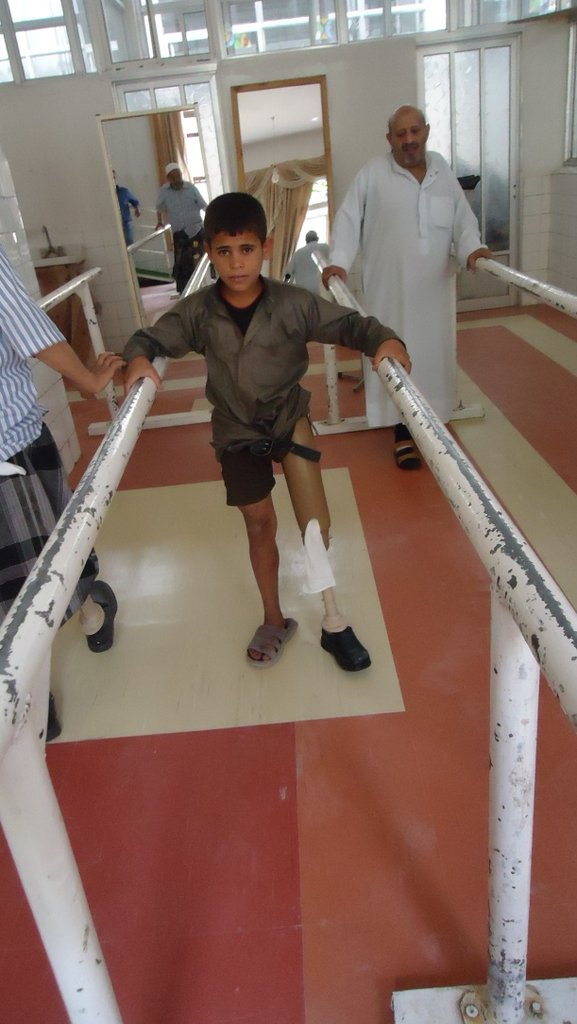 Many children are injured by landmines in Yemen