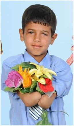 Mohammad at 11 years old