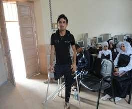 Young landmine survivors in Basra, Iraq