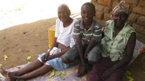 Job, his grandmother and his aunt