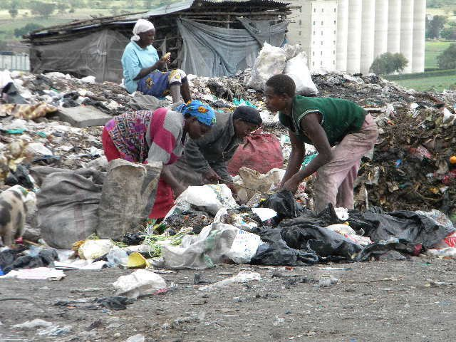 Women in the dump pic by J. Buley