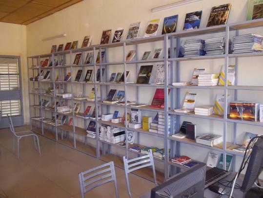 Hampate Ba's brand new library !