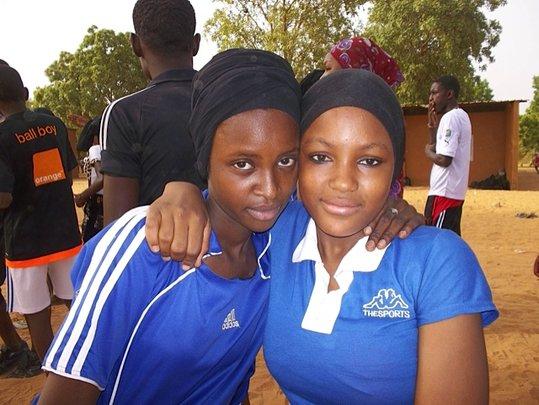 Fatchima with a friend