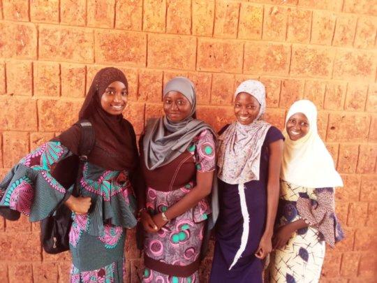 The scientific girls