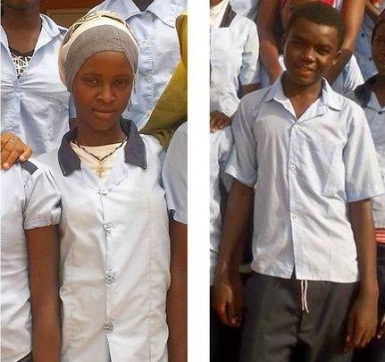 Fatchima and Aziz in 2015