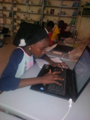 Learning how to write on computers