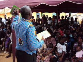 Ghana Health Service Officer