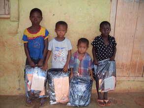 Distribution of school items