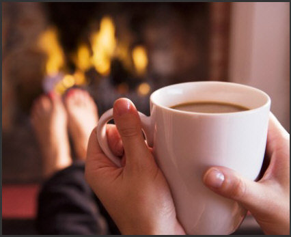 Hot Cocoa by the Hearth