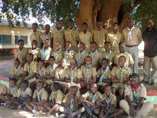 Scout Event held in Rimbi village in June 2015