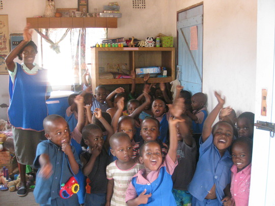 """The Children Saying """"Thanks"""" To You The Donors"""
