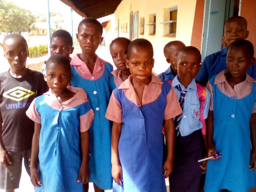 Rimbi Primary School Students Who Receive Help