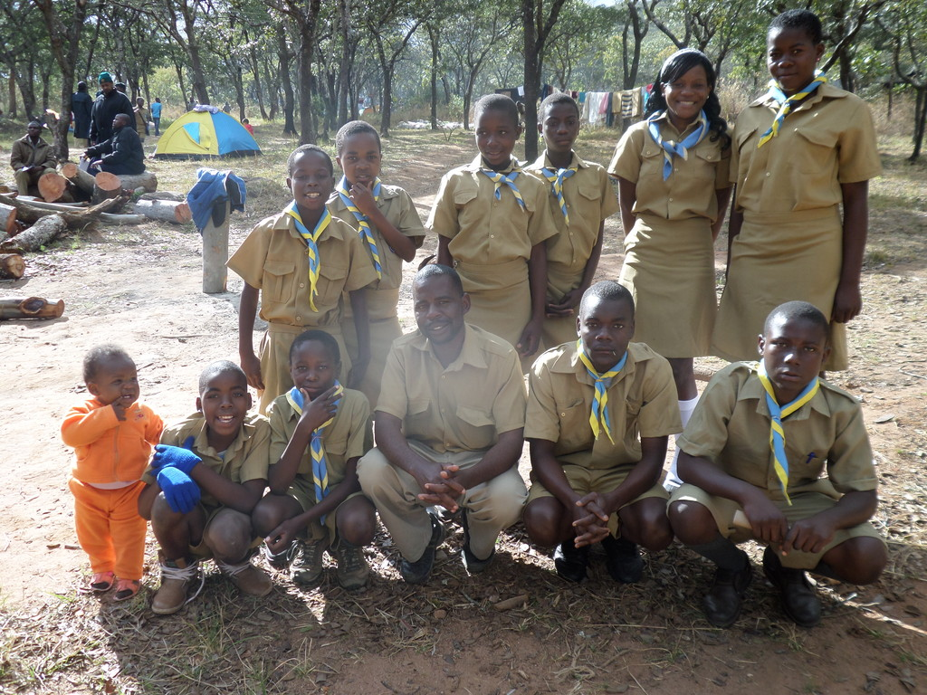 Attending A Scout Event in Mutare