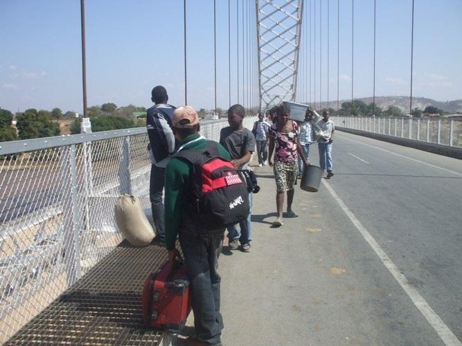 The Tekeshe Scouts enroute to the Jamboree