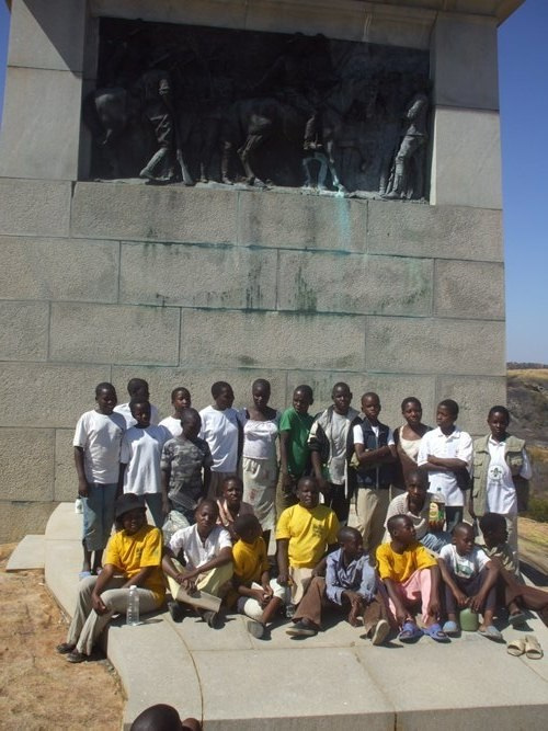 The Tekeshe Foundation Scouts at the Jamboree