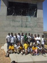 The Tekeshe Foundation Scouts at the Jamboree