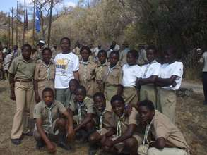 Our scouts at a Jamboree in Bulawayo