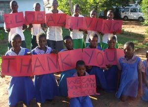 Special Thanks To GlobalGiving from Rimbi village