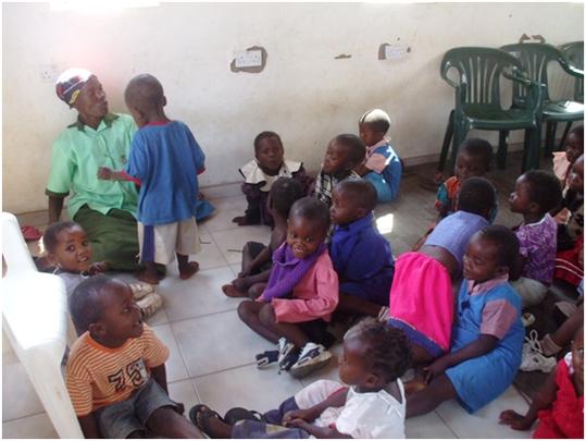 Children enrolled at Pre-school