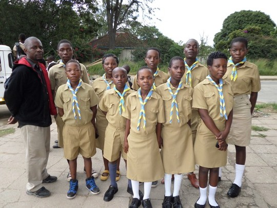Our Scouts and Our Assitant Program Coordinator