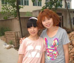 XueYan (left)