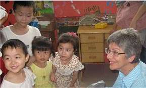 Rosemary Wilson at the Wen Xiang Ge Group Home