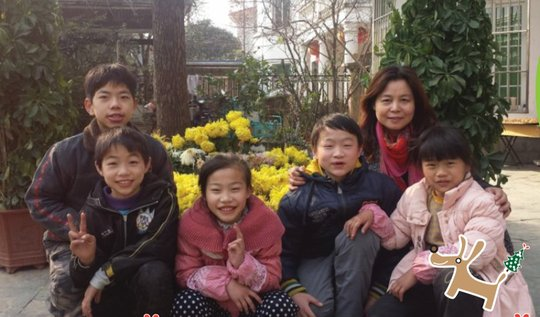 ZhenZhen and her loving family