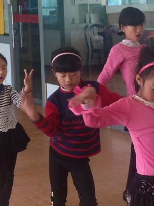 ZhenZhen at Happy Weekend Dancing Activity