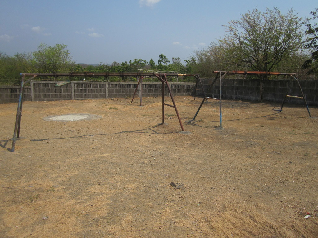 Playground at the school