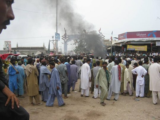 Hungry IDPs hold protest against Govt.