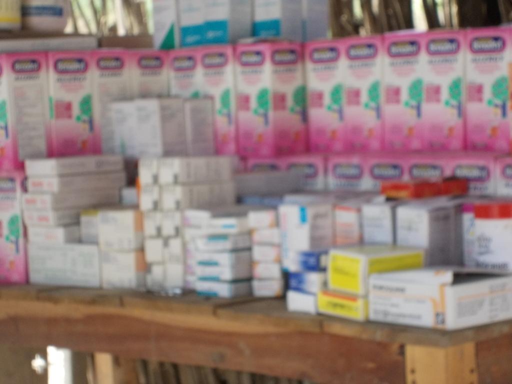 Medicine for flood vicitms