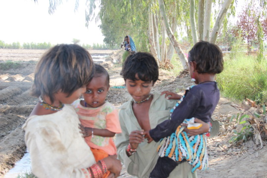 Children facing food shortage
