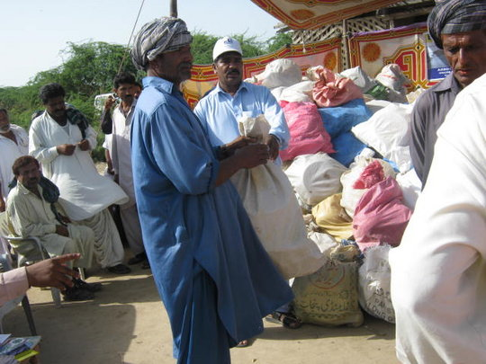 Distribution of Food & Non food itmes