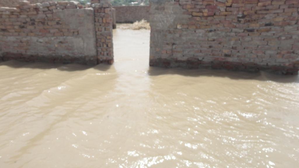 Floods near Hyderabad