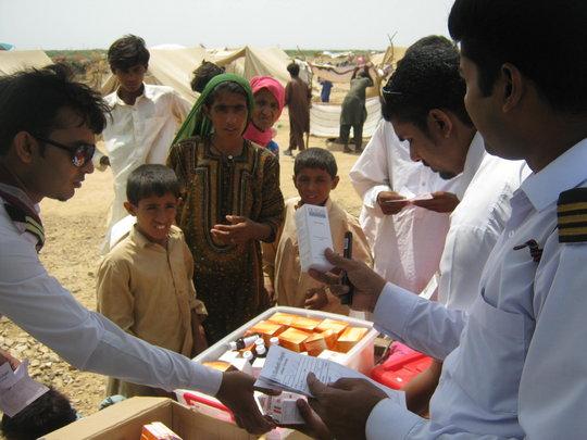 Free medicne to IDPs