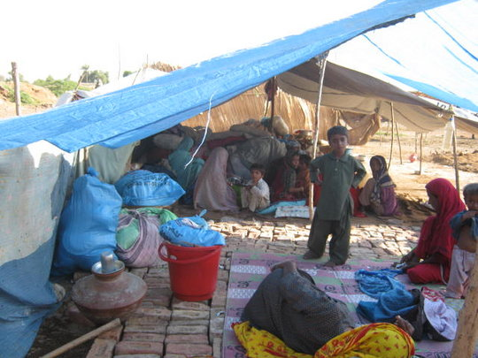 IDPs received food & medical AID from AHD