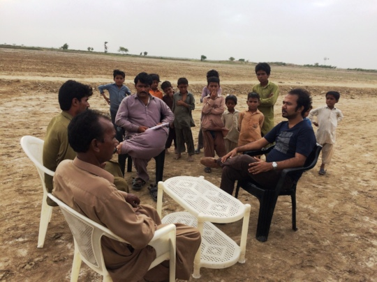 Field visit AHD staff in rural families