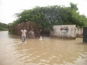 Large areas of Tando Hafiz Shah Thatta