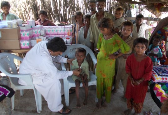 Medical camps needed at 2500 individuals