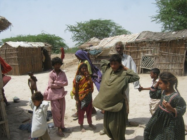 villagers needs support of food and medicine