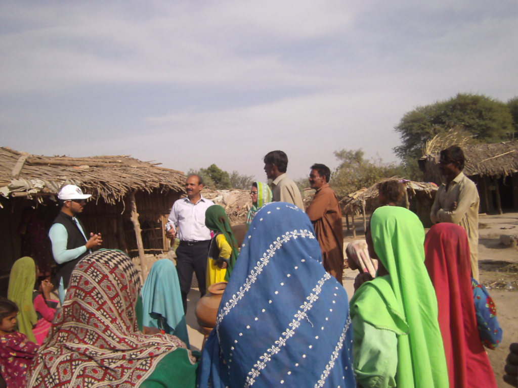 Meeting with farmers over food crises