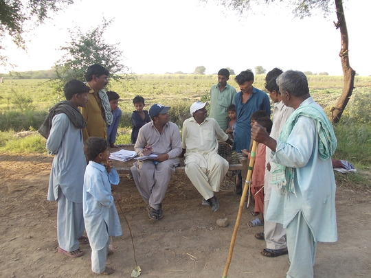 Selection of villages for medical camps