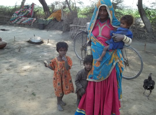 women facing food insecurity