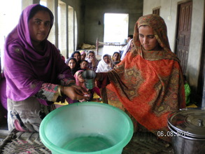 Women Hand Washing Training near Matli