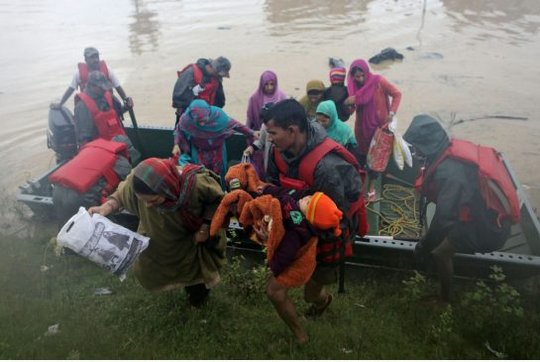 Floods Pakistan 2014
