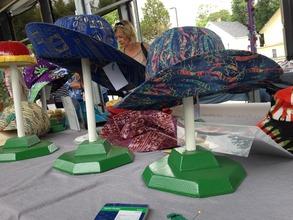FAF Hats for Sale at Art Market
