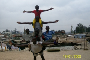 Sports at the Good Samaritan Children's Home