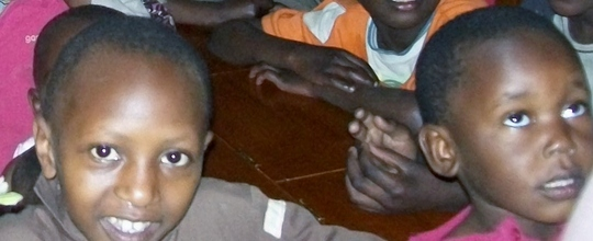 At the Good Samaritan Children's Home