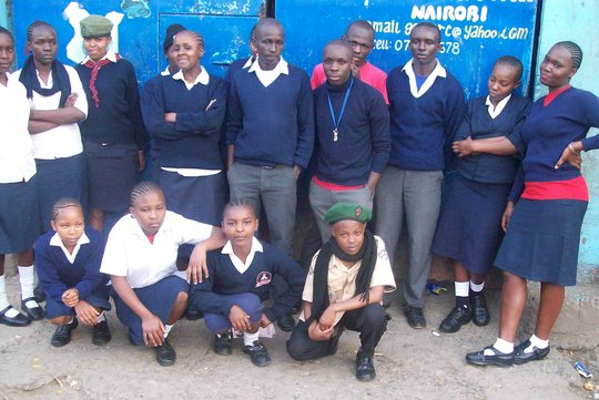 Send Orphaned Teens from Kenya to High School